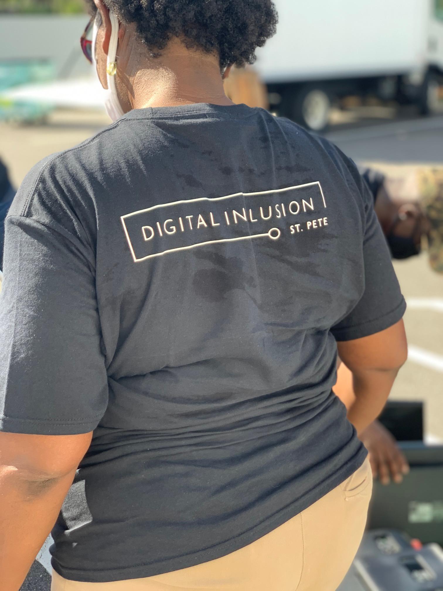 Digital Inclusion St Pete t-shirt