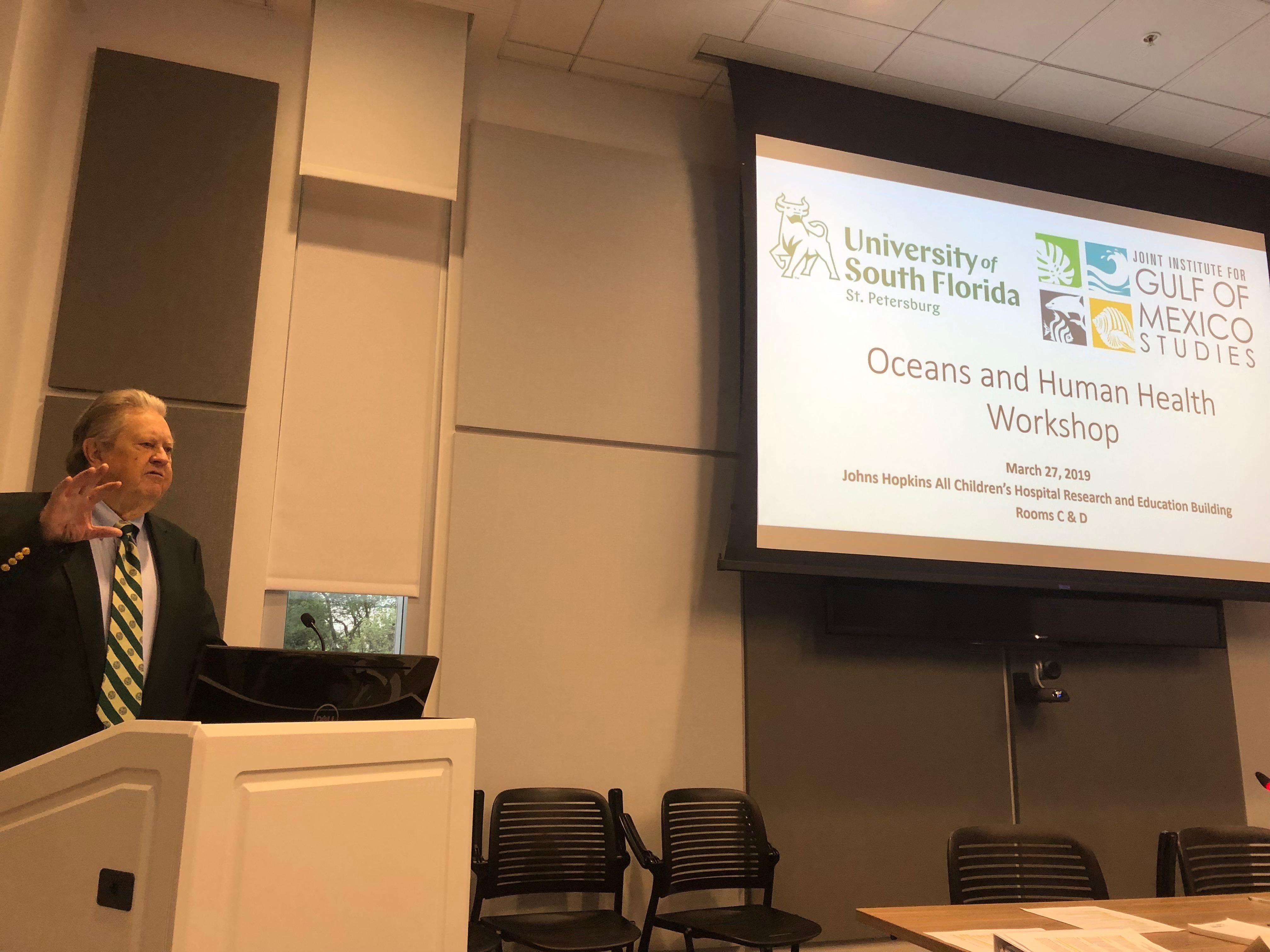 Ocean and human health workshop