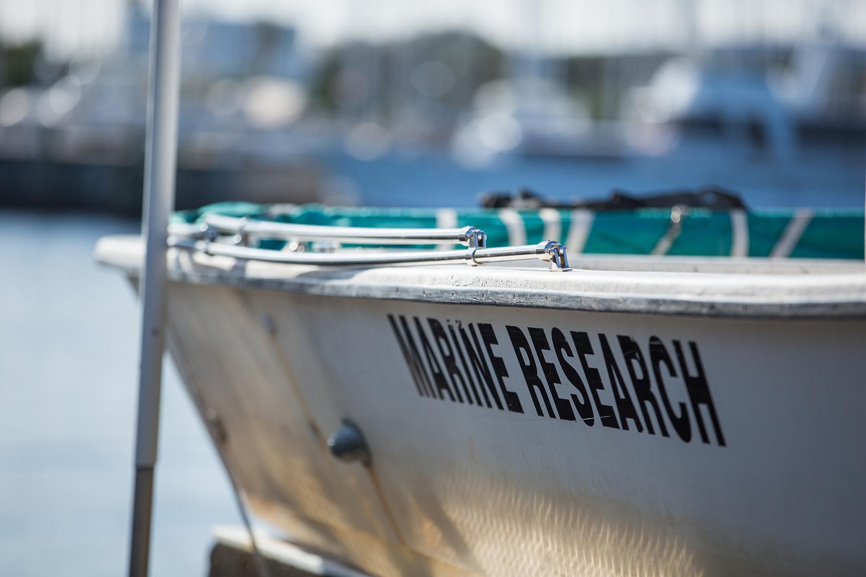 Marine Research boat