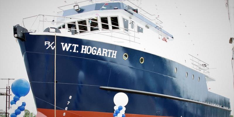 Research Vessel, the W.T. Hogarth