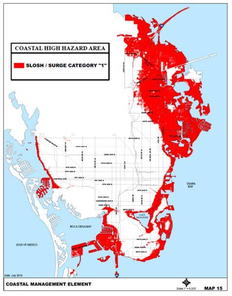 Coastal Hazard map