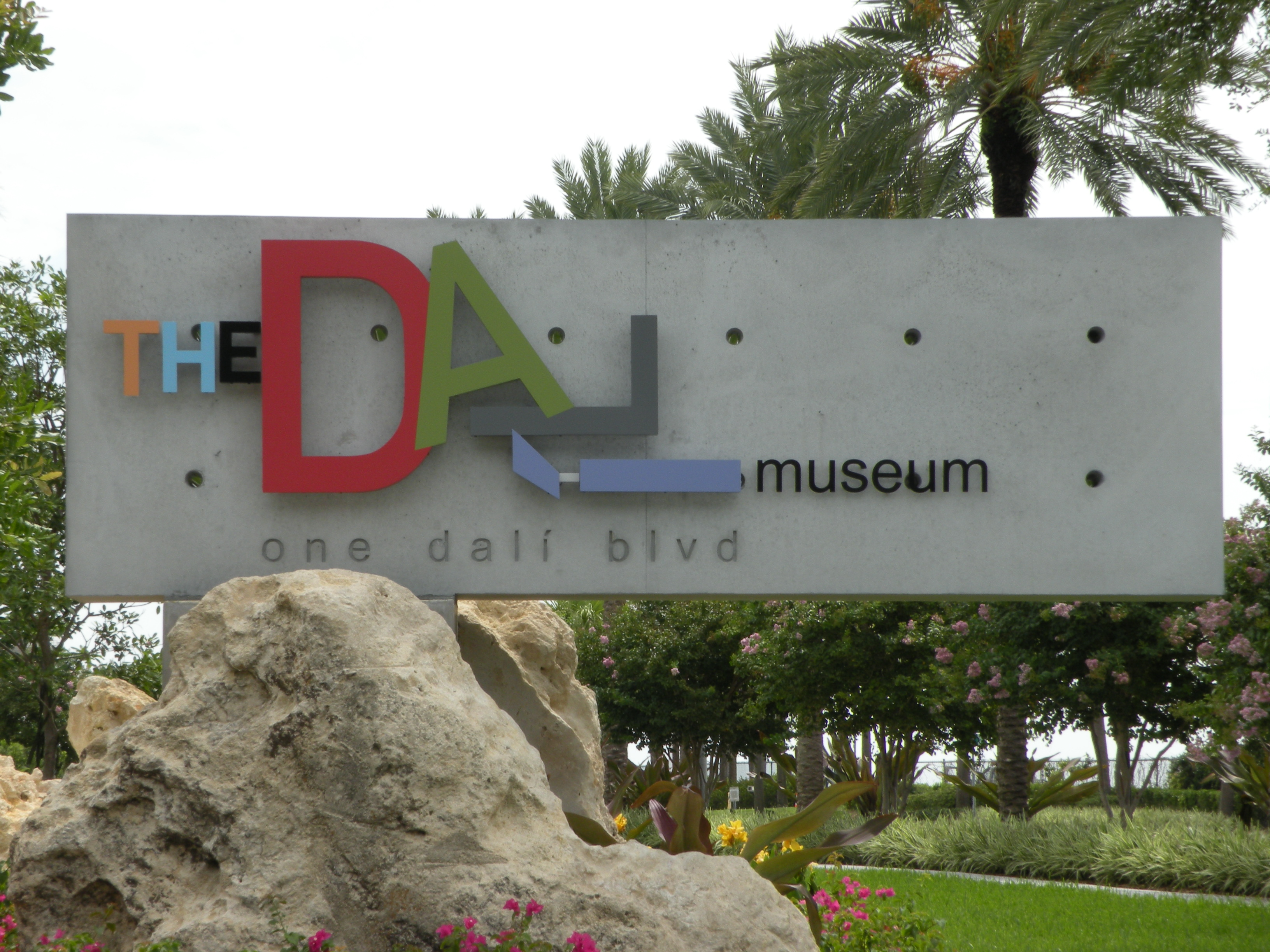 Sign for the Dali Museum