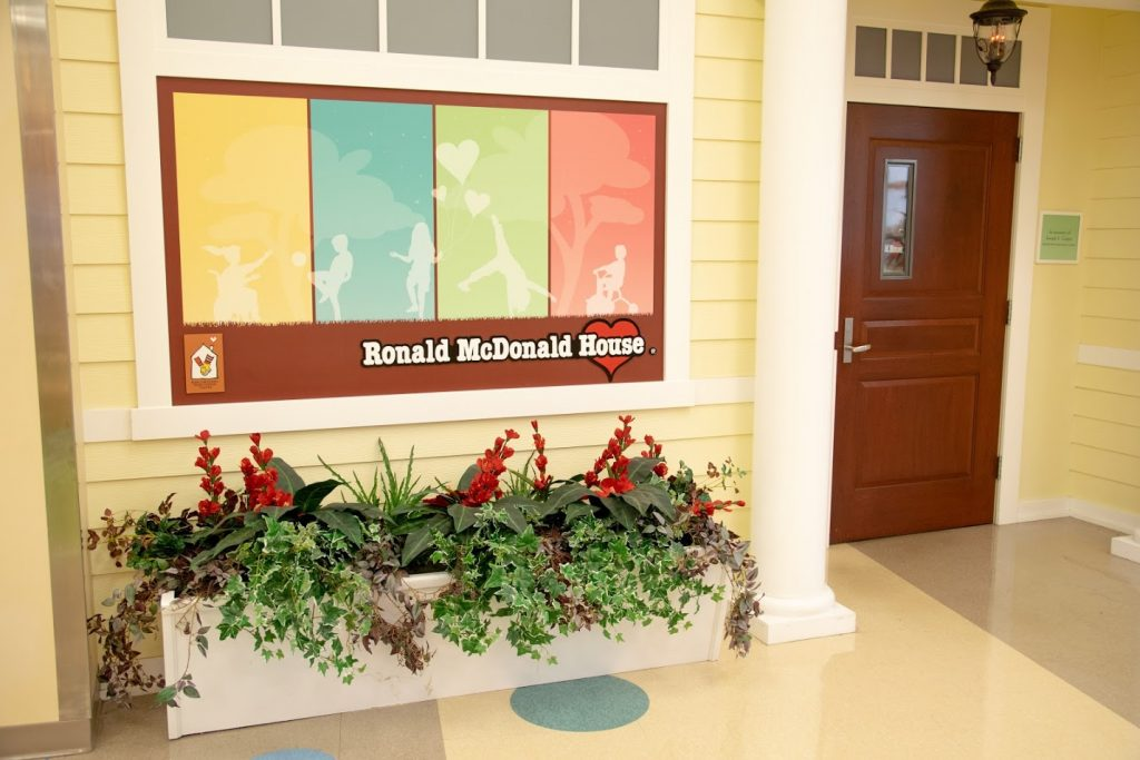 Porch of the Ronald McDonald House