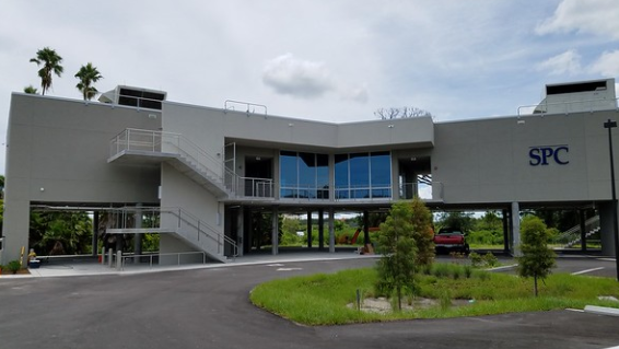 Exterior view of a building at the St Pete College