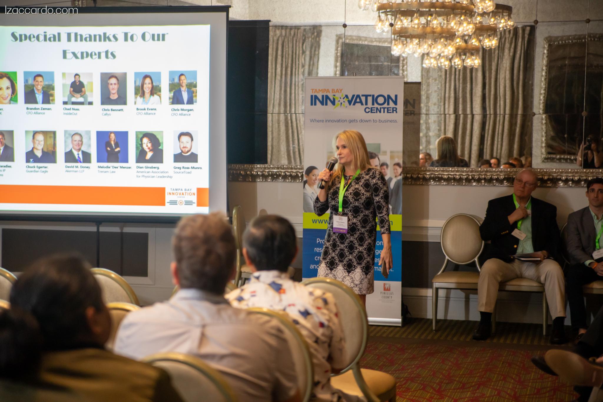 Presentation at the Tampa Bay Innovation Center