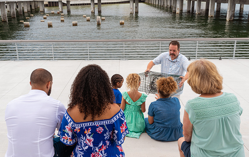 Small Tampa Bay Watch Gathering