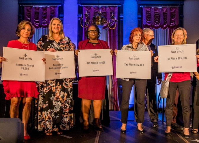 2017 Winners of Fast Pitch