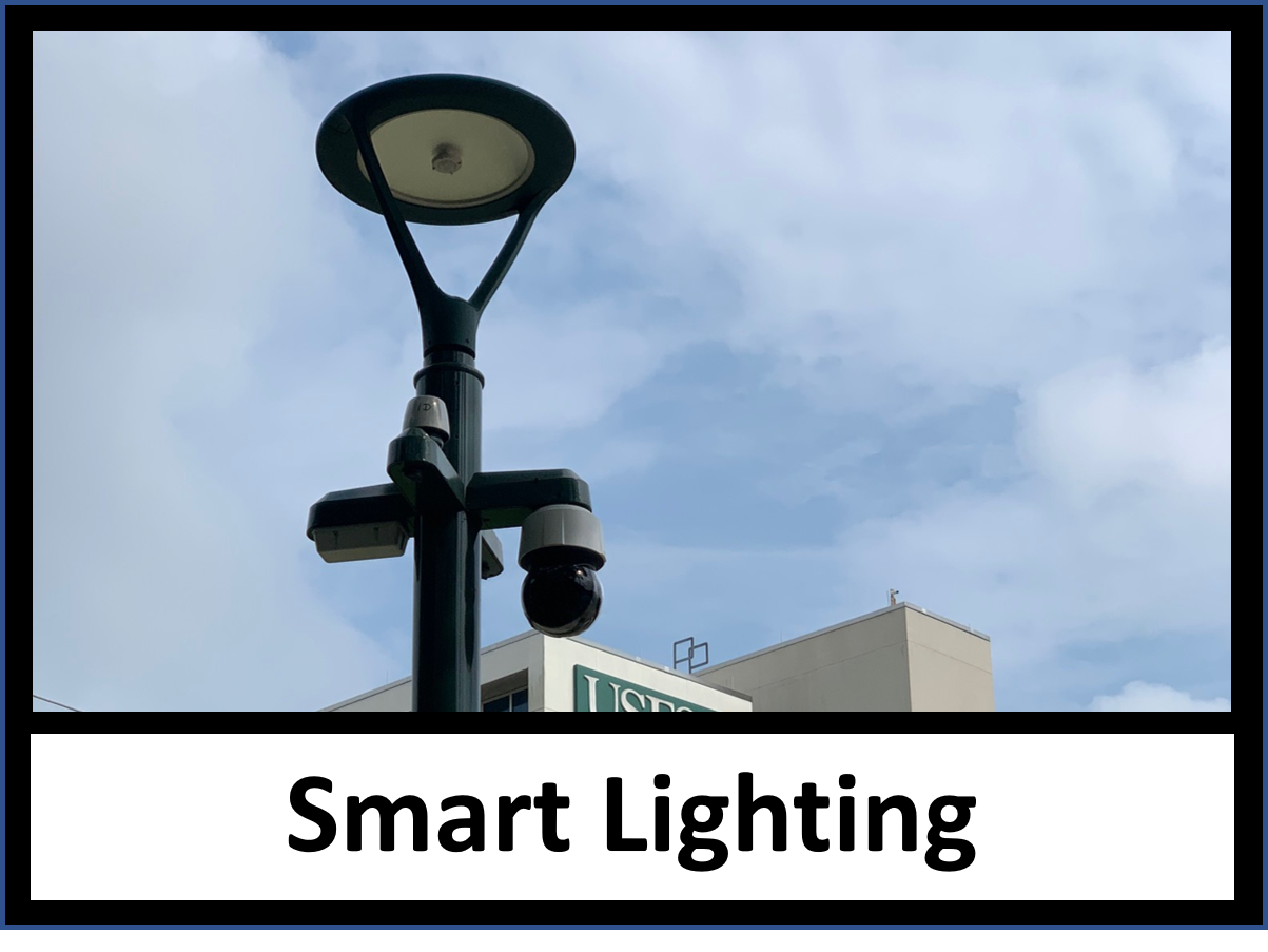Smart Lighting at an intersection