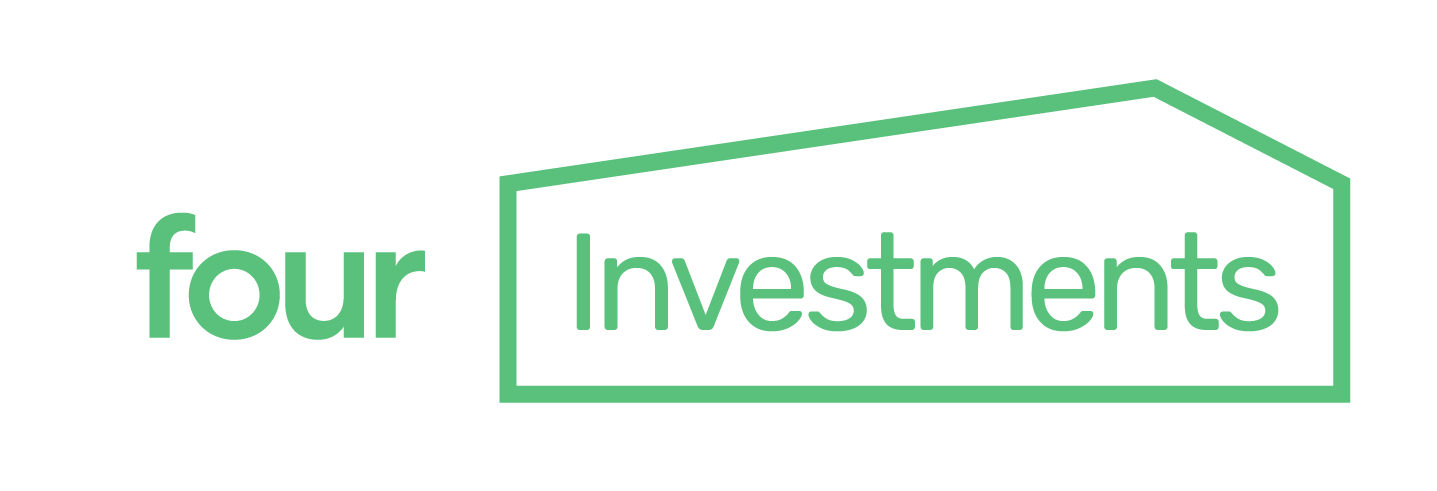 5four Investments white and green logo
