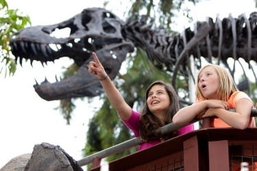 Kids at the Dig Up a Dino Adventure