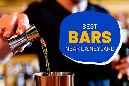 Best Bars near Disneyland - Bartender pouring some drinks