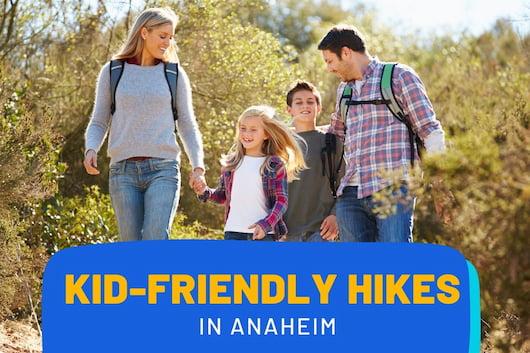 Kid-Friendly Hikes near Anaheim - Family hiking together