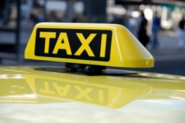 Yellow Cab Taxi sign