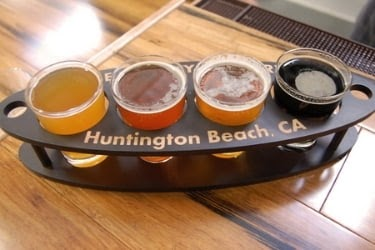 Beer Samples from Huntington Beach, CA