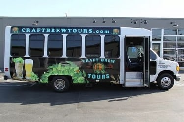 Craft Brew Tours Bus