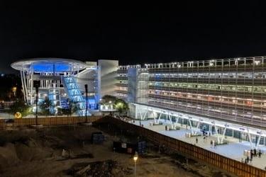 Pixar Pal parking structure