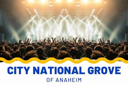 City National Grove of Anaheim - Music Concert