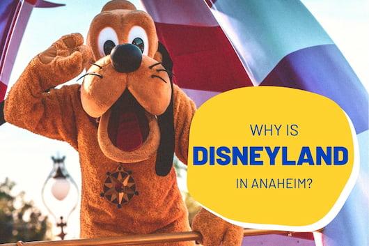 Why Is Disneyland in Anaheim? - Goofy