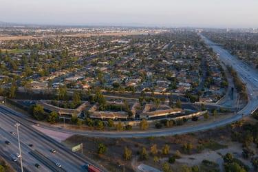 Aerial Shot from Anaheim