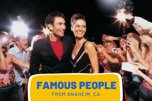 Celebrities with paparazzi's - Famous People from Anaheim, CA