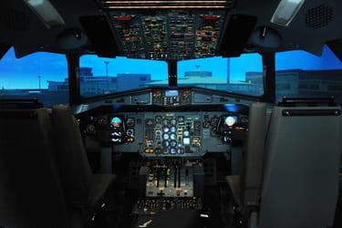 Flight Simulator - Pilot Cabin