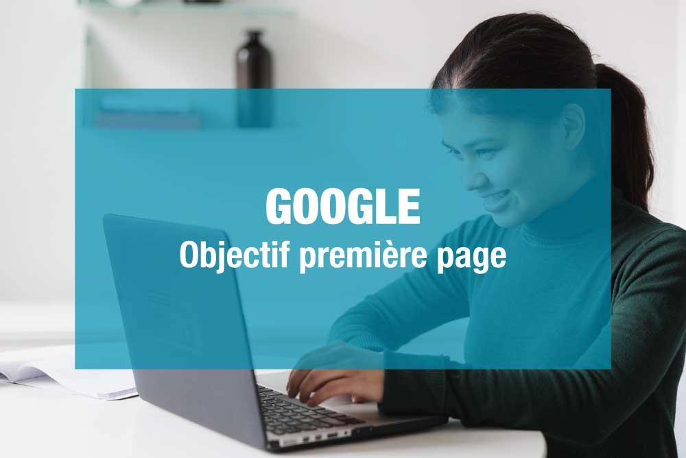 Comment apparaître en premier sur Google