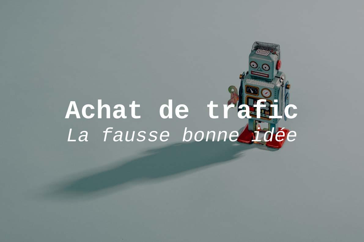 Achat de traffic web