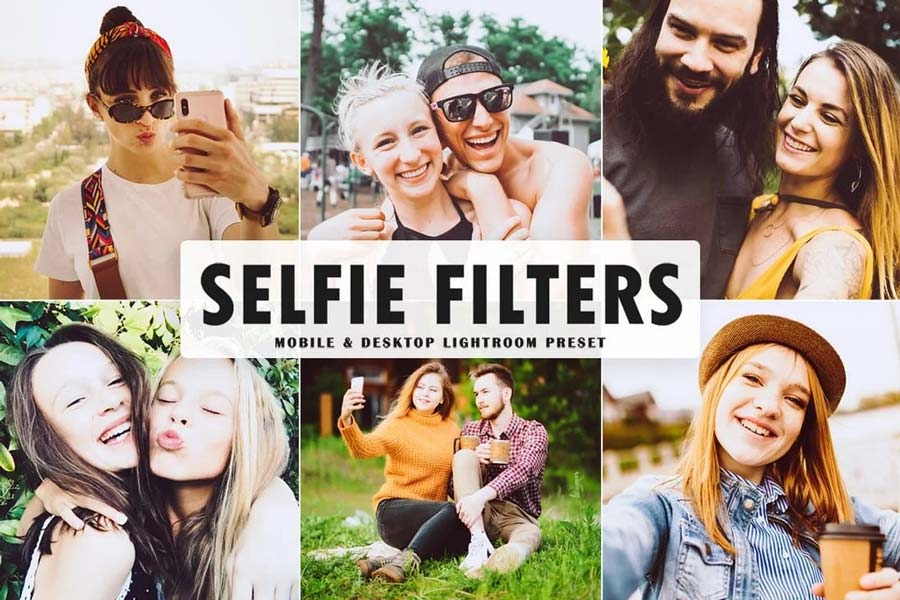 preset selfie lightroom gratuit