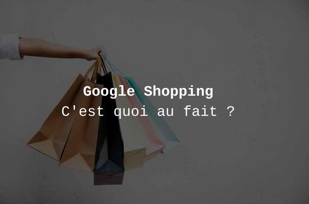 Service shopping de google