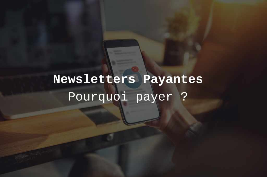 Payer pour une newsletter