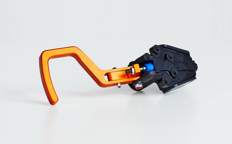 Hydraulic hand clutch