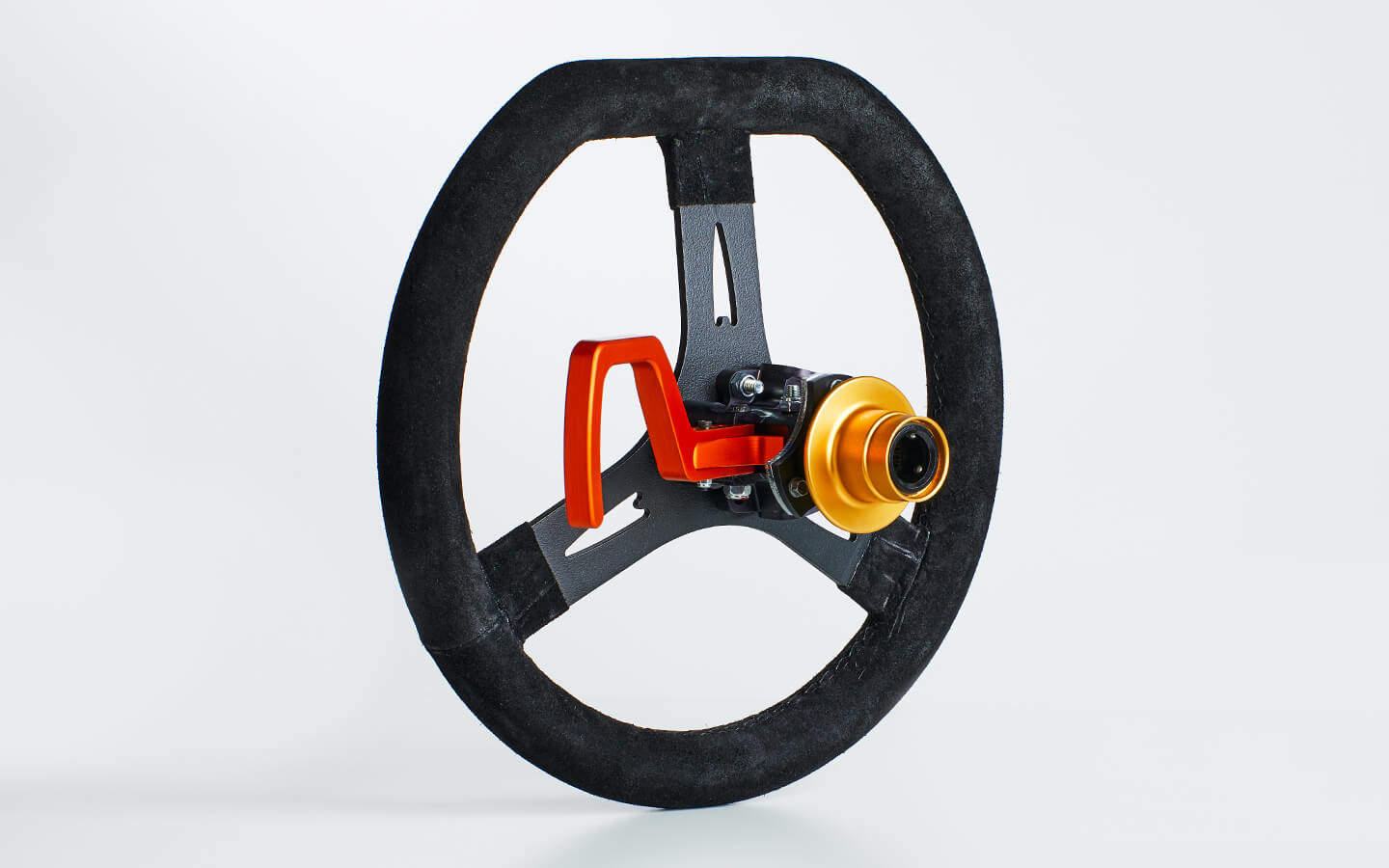 Quick release steering wheel and hydraulic hand clutch