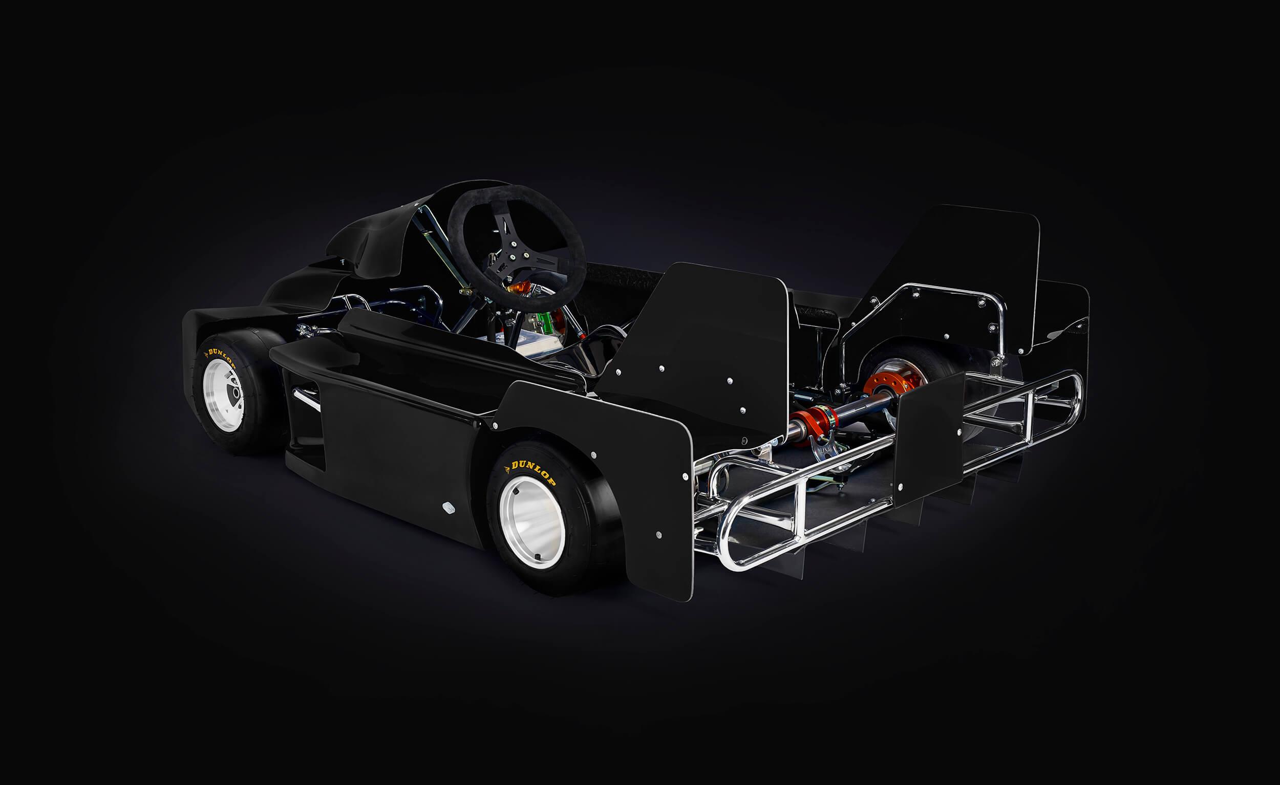 Anderson Karts 125 Super Kart Configurator Background Image