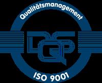 Qualitätsmanagement Siegel ISO 9001