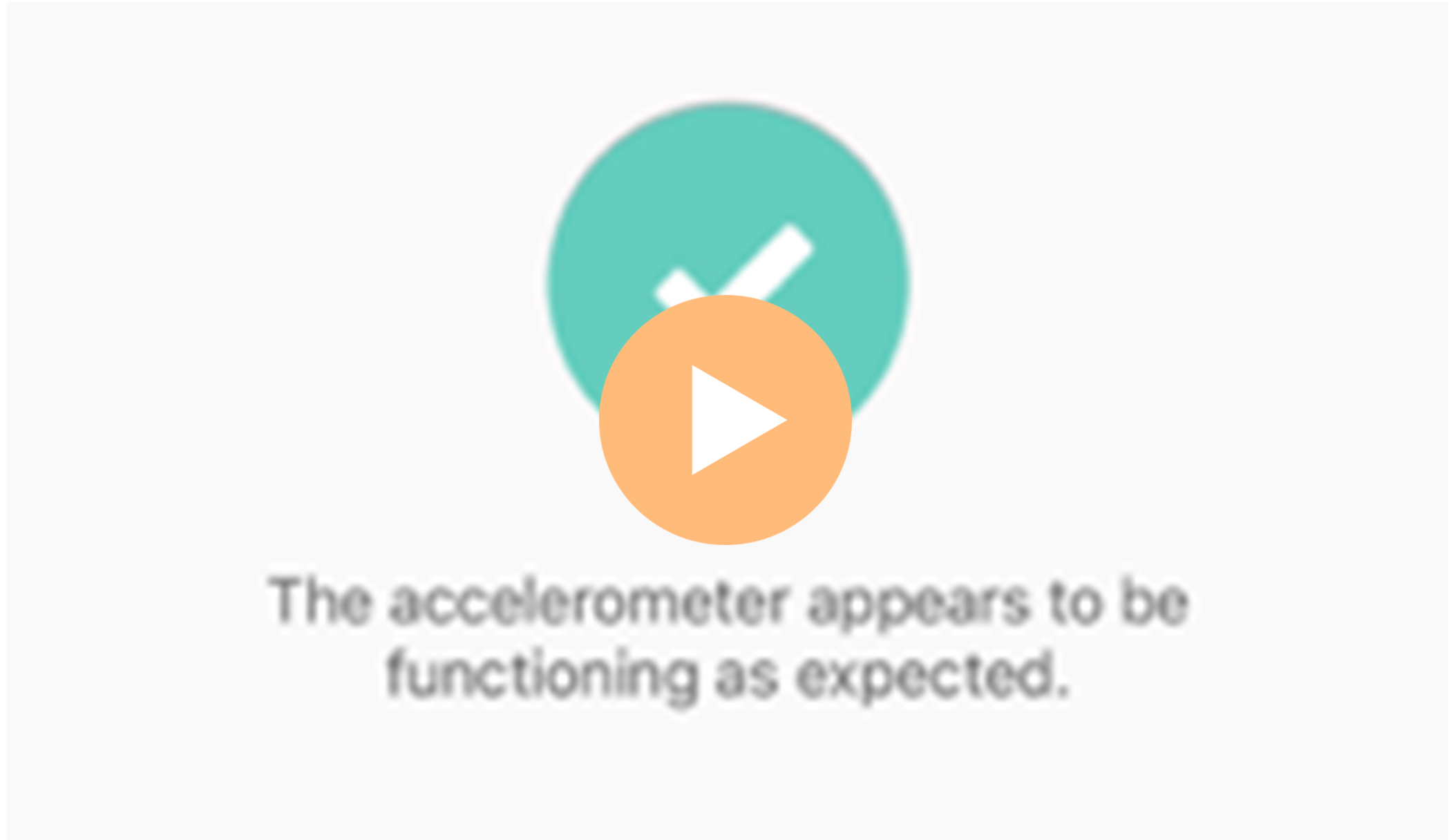 Sway Medical Accelerometer Verification