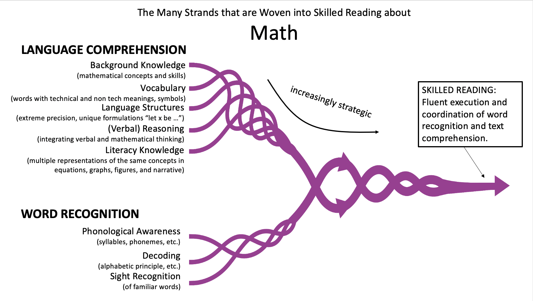 The Many Strands of Skilled Reading in Math