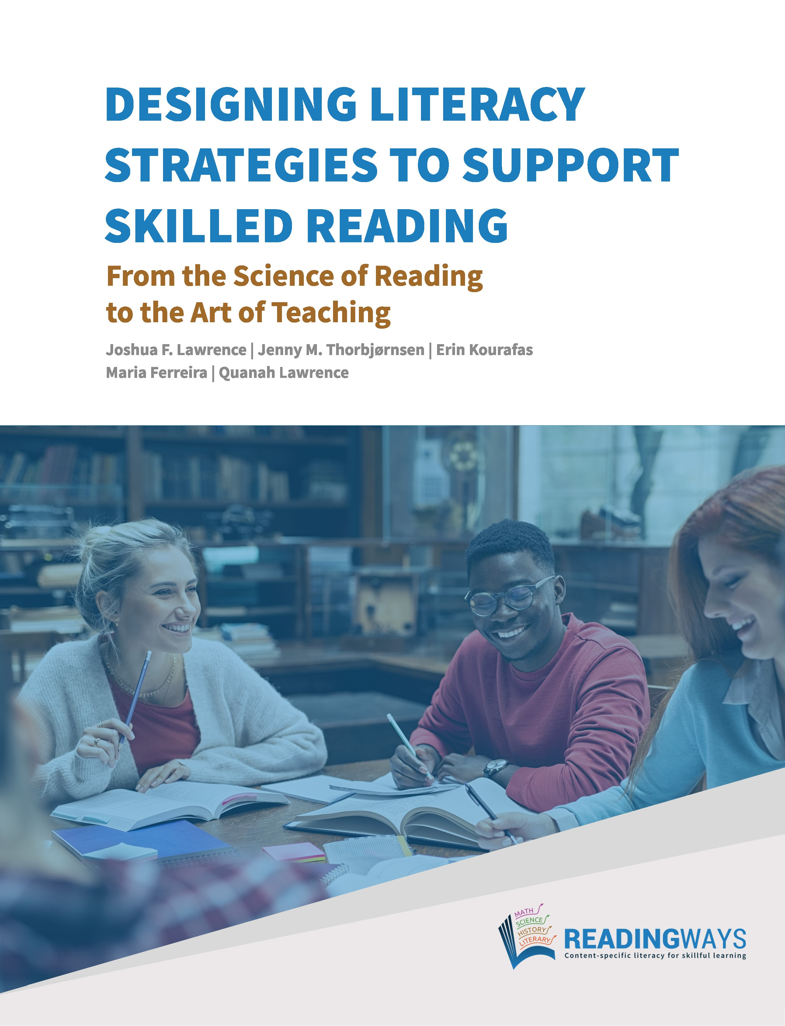 Designing literacy strategies to support skilled reading