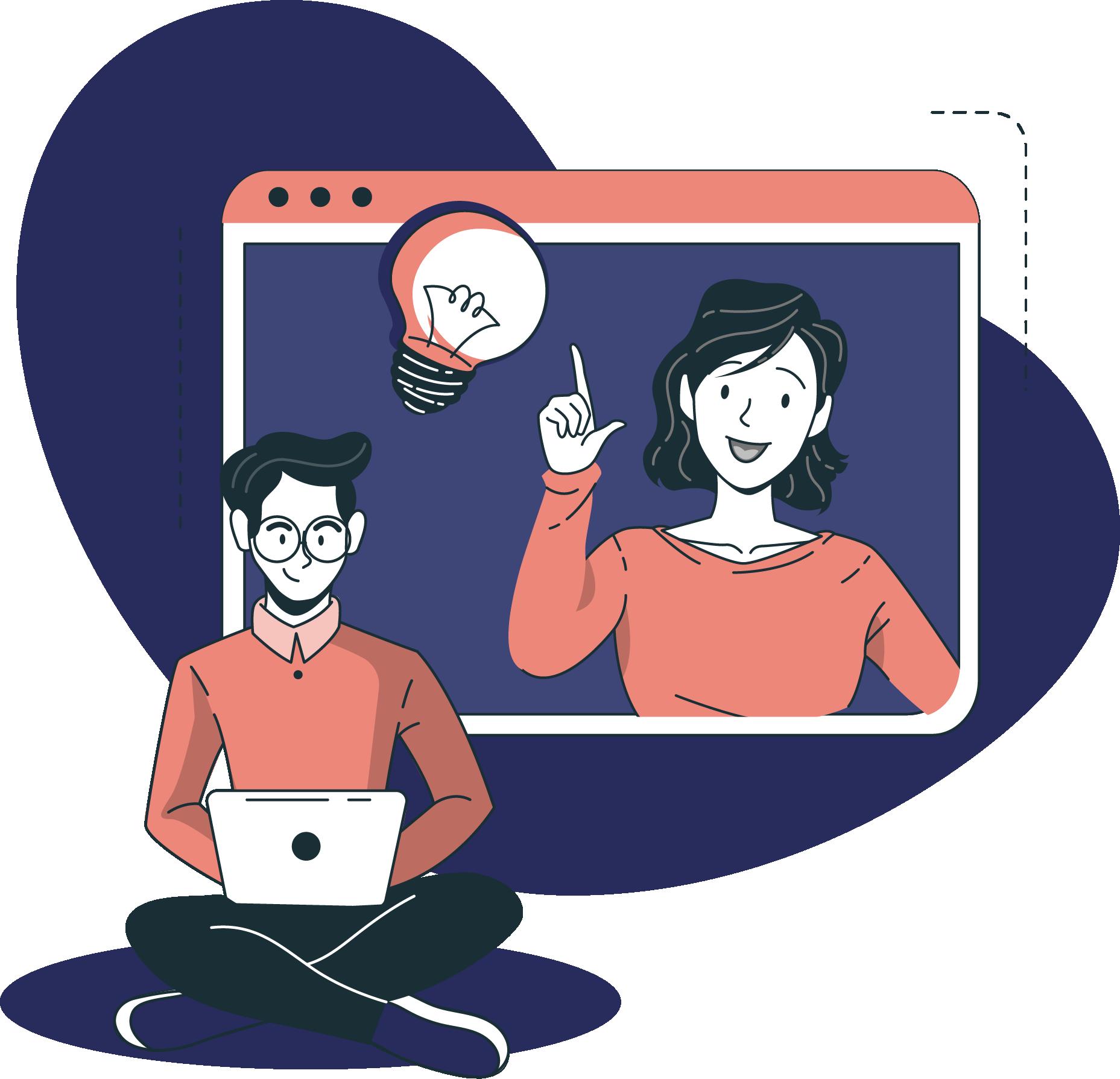 Digital nomad reçoit le séjour préparé par Remoters
