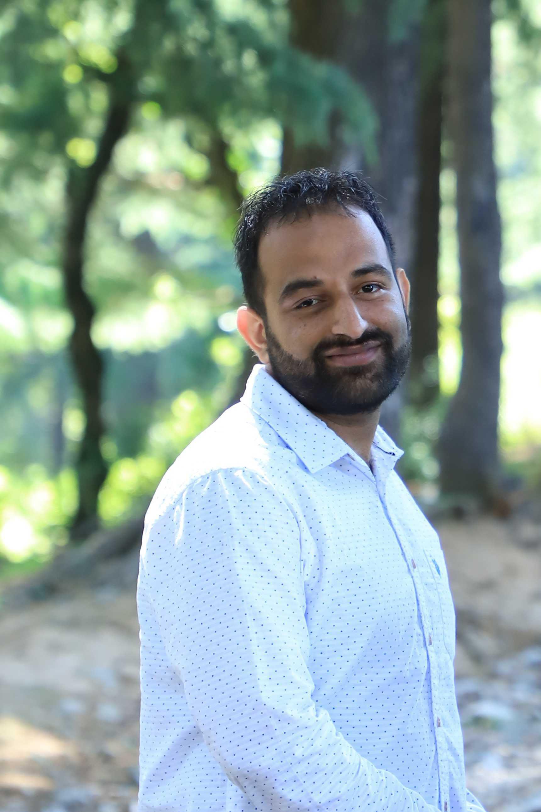 Vivek Dixit portrait photo