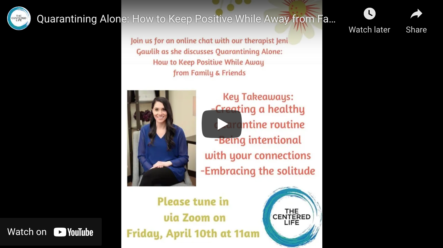 Quarantining Alone: How to Keep Positive While Away from Family and Friends