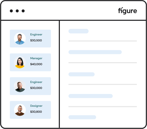 Minimalistic Illustration of Figure Dashboard.