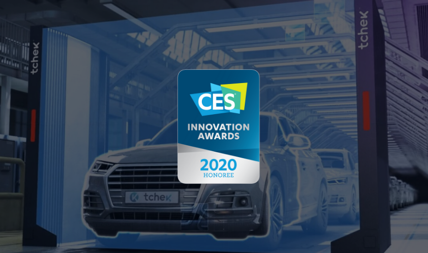 Tchek honoured at the CES Innovation Awards
