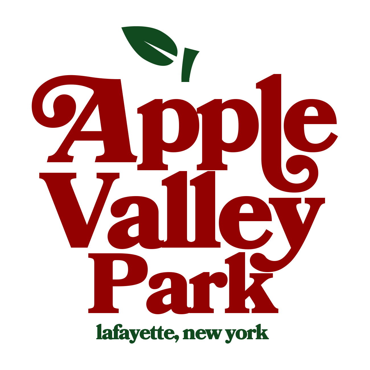 apple valley park logo