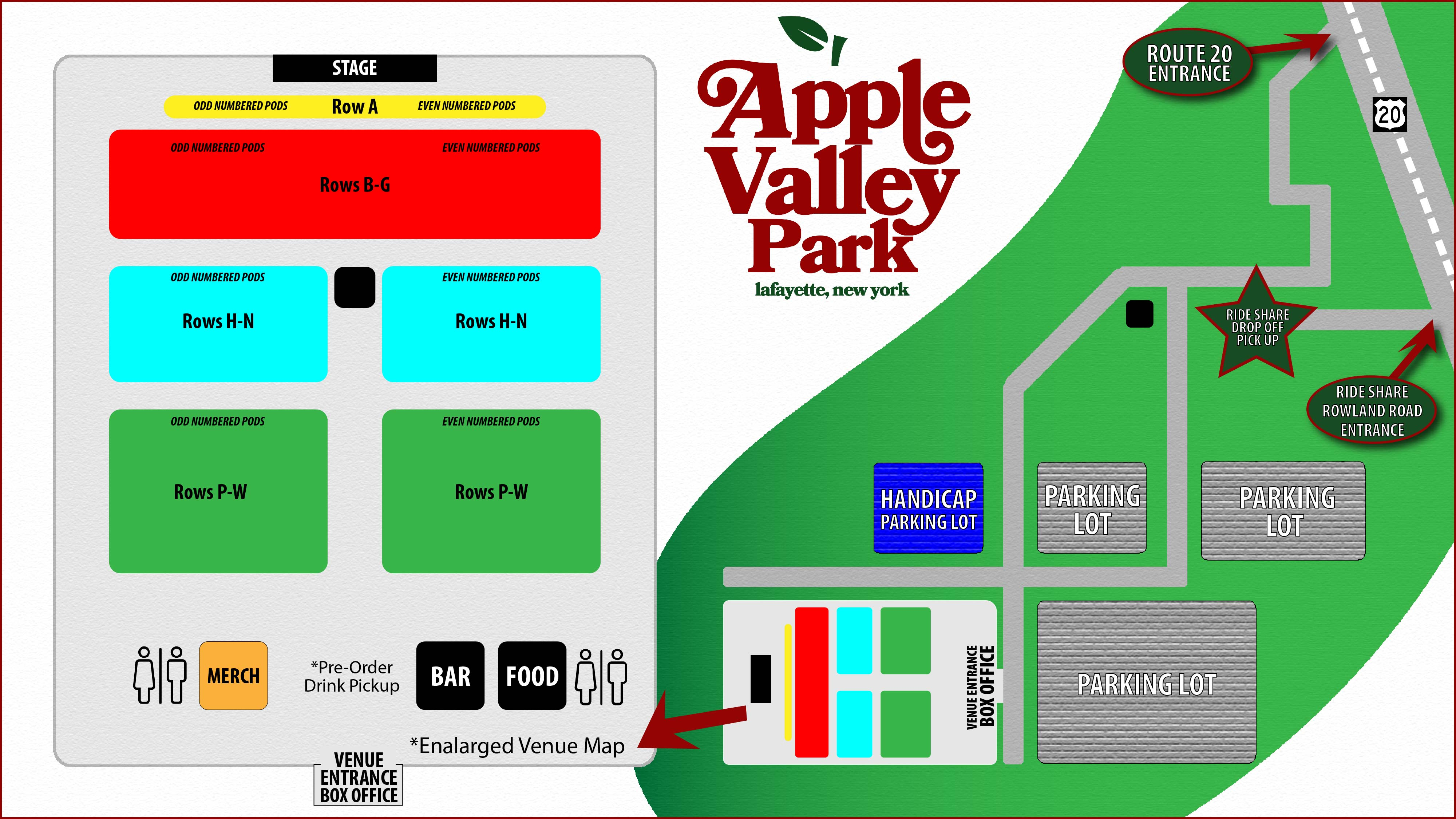 apple valley park map