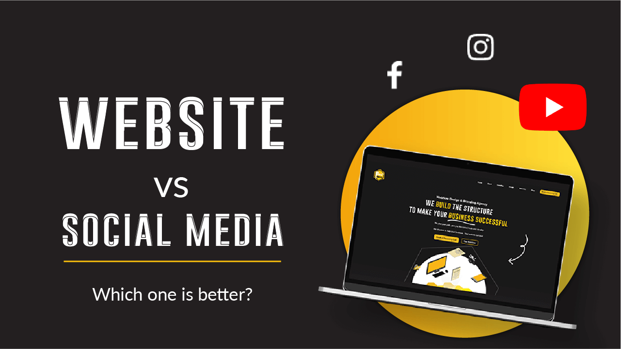 Article about social media vs website
