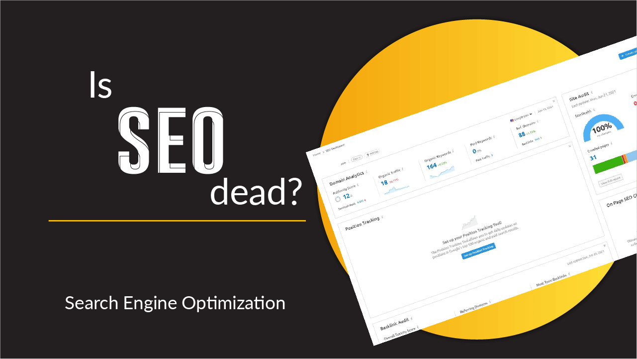 Thumbnail showing SEO health score of a website