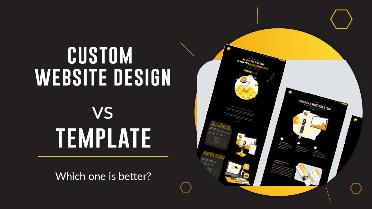 Thumbnail showing custom website design