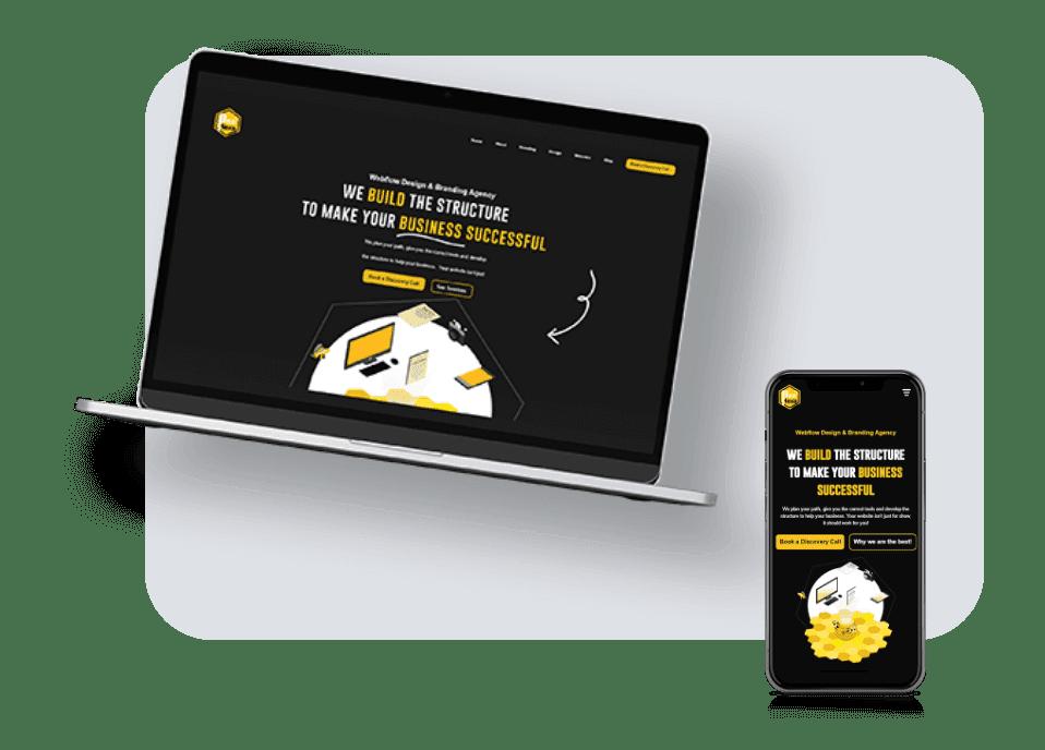 Custom-website-design-bee-hexa-branding