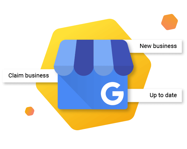 Local SEO GMB Logo with Creation and Claiming Signs