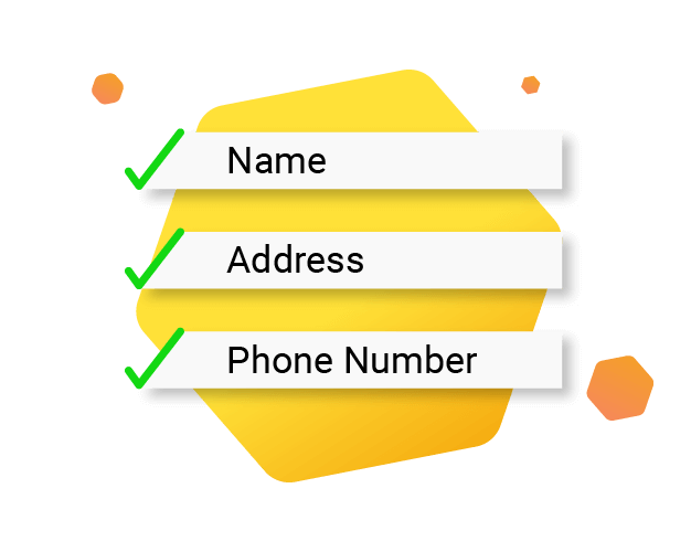 Local SEO Name, Address, Phone number consistency illustration
